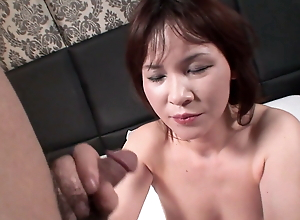 MATURE HAIRY MILF amateur porn from Japan – Japanese creampie
