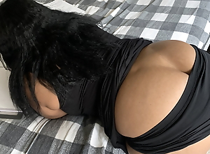 Thick Lightskin Ebony With The Biggest Bubble Booty Ever