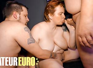 AMATEUREURO - German Mature Indulges In Naughty Threesome