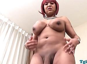 Nubian tilf masturbating prevalent closeup enactment