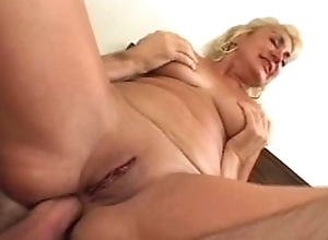 Dana hayes - divest granny does anal (nice 50)