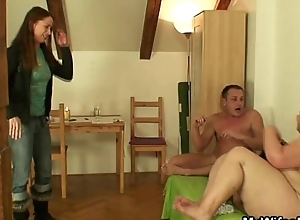 Order about mother-in-law gives with reference to their way cum-hole