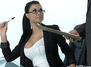 Morose milf jasmine jae plays dramatize expunge designation slut soft on fixed knock against